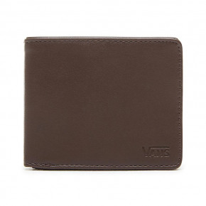Go to the product Wallet Vans Drop V Bifold dark brown 2019