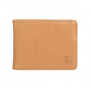 Go to the product Wallet Volcom Strangler Leather natural 2019