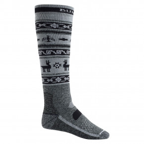 Go to the product Snow socks Burton Performance Midweight true black heather 2018/2019
