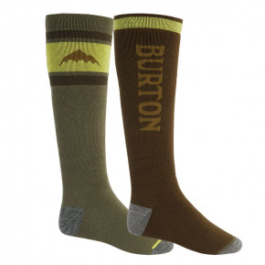 Go to the product Snow socks Burton Weekend Midweight 2Pk martini olive/keef 2020/2021
