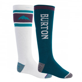 Go to the product Snow socks Burton Weekend Midweight 2Pk stout white/dynasty green 2020/2021