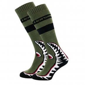 Go to the product Snow socks Horsefeathers Shark olive 2018/2019