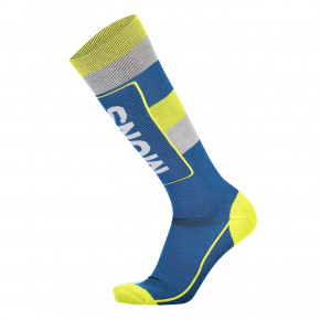 Go to the product Snow socks Mons Royale Mons Tech Cushion oily blue/grey/citrus 2019/2020