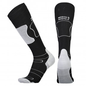 Go to the product Snow socks Mons Royale Pro Lite Tech Sock black/grey 2018/2019