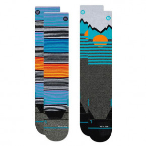 Go to the product Snow socks Stance Mens Mountain 2-Pack multi 2019/2020