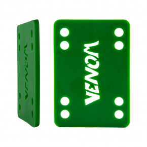 "Go to the product Pads Venom Riser Pad 1/8"" green"