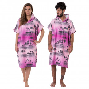 Go to the product Poncho After Palm Tree pink 2018