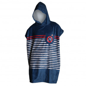 Go to the product Poncho After Sailor Stripes marine 2020
