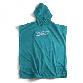 Go to the product Poncho Follow Hooded Towelie Poncho teal 2020