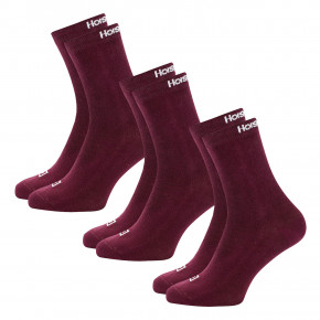 Go to the product Socks Horsefeathers Una 3 Pack sangria 2018/2019