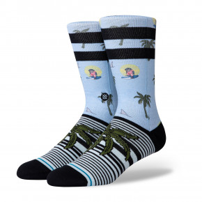 Go to the product Socks Stance Aloha Monkey light blue 2020