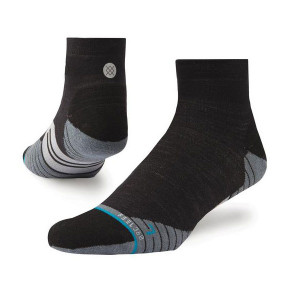 Go to the product Socks Stance Bike Solid Wool Qtr charcoal 2019