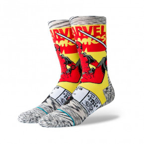 Go to the product Socks Stance Deadpool Comic grey 2019