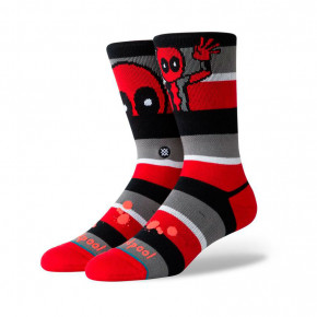 Go to the product Socks Stance Deadpool Stripe red 2020