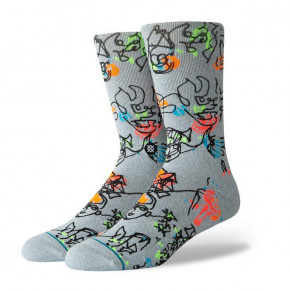 Go to the product Socks Stance Electric Slide heather grey 2019