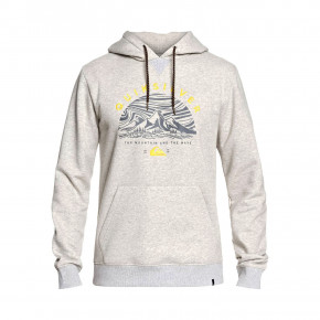 Przejść do produktu Bluza Quiksilver Big Logo Tech Hoodie light grey heather 2019/2020