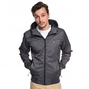 Go to the product Street jacket Quiksilver Brooks Bonded dark grey heather 2018