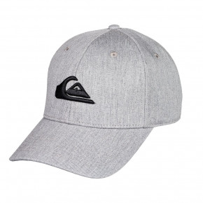 Go to the product Cap Quiksilver Decades light grey heather 2021