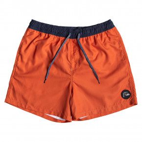 Go to the product Boardshorts Quiksilver Glitch Volley 16 tiger orange 2019