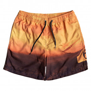 Go to the product Boardshorts Quiksilver Heaven Volley 17 tiger orange 2019