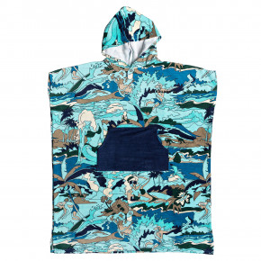 Go to the product Poncho Quiksilver Hoody medieval blue 2019