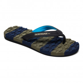 Go to the product Flip-Flops Quiksilver Massage black/blue/green 2019