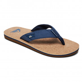 Przejść do produktu Japonki Quiksilver Molokai Abyss Cork blue/brown/blue 2019