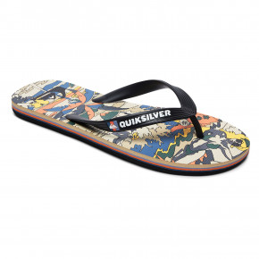 Przejść do produktu Japonki Quiksilver Molokai Feelin Fine black/black/yellow 2019