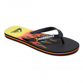Przejść do produktu Japonki Quiksilver Molokai Fire black/yellow/red 2019