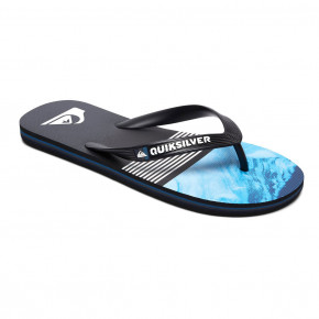 Go to the product Flip-Flops Quiksilver Molokai Lava Division black/blue/grey 2018