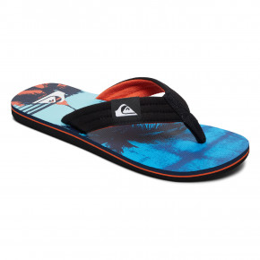 Przejść do produktu Japonki Quiksilver Molokai Layback black/orange/blue 2019