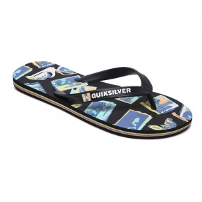 Go to the product Flip-Flops Quiksilver Molokai Vacancy black/green/black 2020