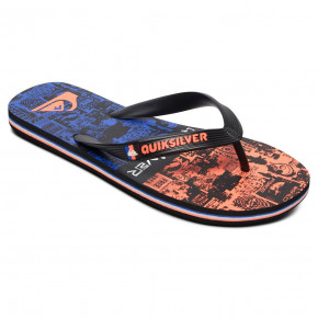 Przejść do produktu Japonki Quiksilver Molokai Vortex Youth black/black/red 2020
