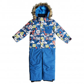 Přejít na produkt Quiksilver Rookie Kids Suit daphne blue/animal party 2018/2019