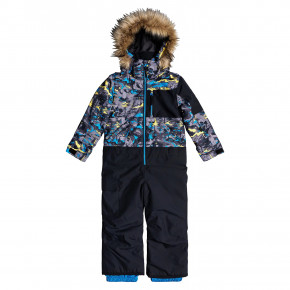 Przejść do produktu Quiksilver Rookie Kids Suit sulphur pop yeti forest 2020/2021