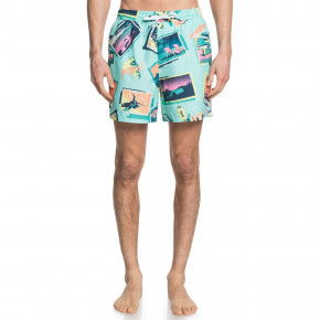 Prejsť na produkt Boardshortky Quiksilver Vacancy Volley 16 beach glass 2020