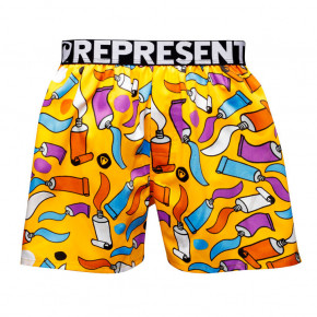 Go to the product Boxer shorts Represent Mike Painting yellow 2019