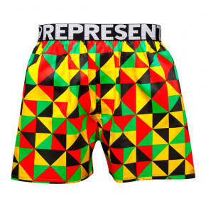 Go to the product Boxer shorts Represent Mike Triangles rasta 2019