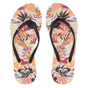 Go to the product Flip-Flops Roxy Bermuda Print black/orange 2020