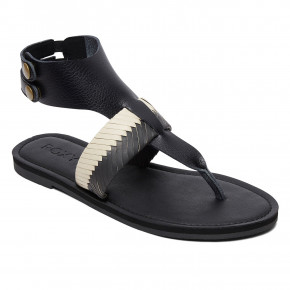 Go to the product Sandals Roxy Bernadette black/white 2019