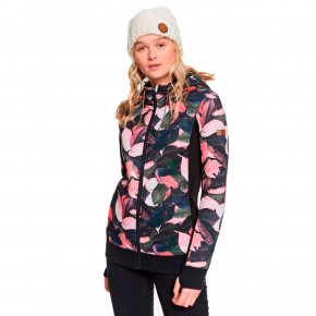 Go to the product Tech Hoodie Roxy Frost Printed living coral plumes 2019/2020