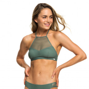Go to the product Bikiny Roxy Garden Summers Full Crop Top duck green 2019