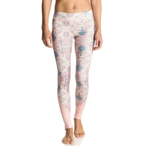 Go to the product Leggings Roxy Imanee Printed Pant heritage heather playground 2017