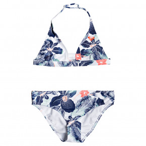 Przejść do produktu Strój kąpielowy Roxy In My Dreams Halter Set bright white summer spirit swim 2019
