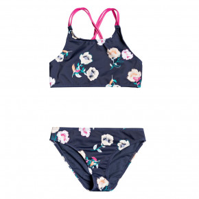 Přejít na produkt Bikiny Roxy Lets Get Salty Crop Top Set mood indigo better way 2020