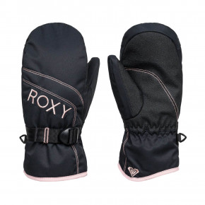 Prejsť na produkt Rukavice Roxy Roxy Jetty Girl Solid Mitt true black 2020/2021