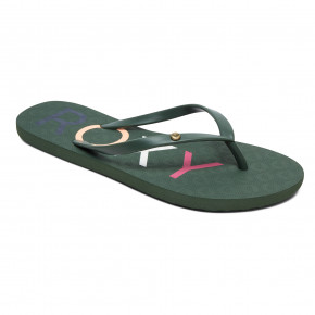 Go to the product Flip-Flops Roxy Sandy II green 2019