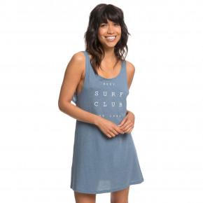 Prejsť na produkt Roxy Travel To Live Tee Dress blue mirage heather 2019