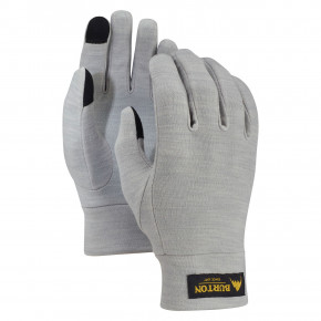 Go to the product Gloves Burton Merino Wool Liner monument heather 2018/2019