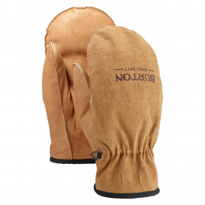 Přejít na produkt Rukavice Burton Workhorse Leather Mitt raw hide 2018/2019